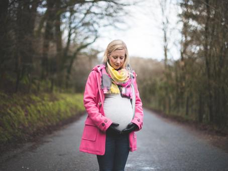 Erik & Rebecca | Maternity session, Burrator Reservoir