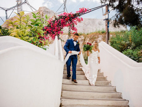 Eden Project | Intimate Mediterranean Wedding