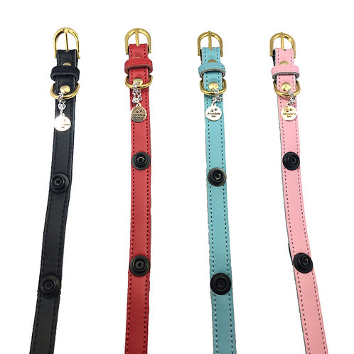 Toy Leather Collars