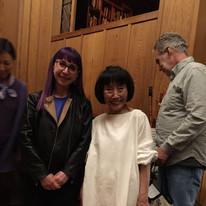 With Sawai Kazue
