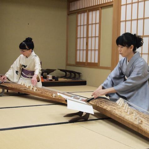 Performing with Nakagawa Garei, Saitama.