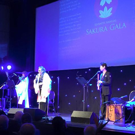 Performing with Ishii Tatuya at JCCC Sakura Gala