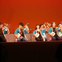 Competing in Team Bachido at 33rd Tsugaru shamisen taikai