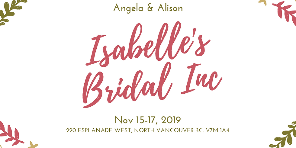 Isabelle's Bridal