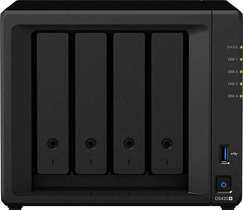 Synology DiskStation DS420+, 16TB HDD (2GB RAM, 2x Gb LAN)