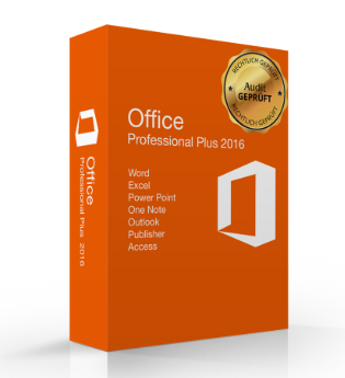 Microsoft Office 2016 Professional Plus Audit Sicher (ESD) (deutsch)