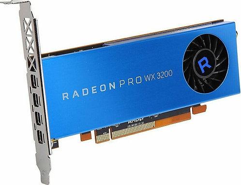 AMD Radeon Pro WX 3200, 4GB GDDR5, 4x mDP