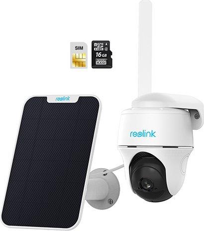Reolink Go PT, 4G LTE-Überwachungskamera, Schwenk- Neigefunktion