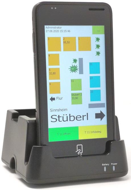 "DT5000W Xplore - Robustes Enterprise PDA, kapazitivem 5"" Touchdisplay"