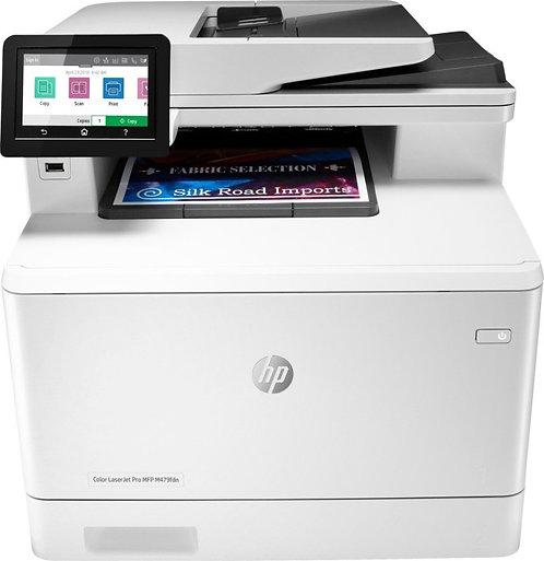 HP Color LaserJet Pro MFP M479fdw, 27 Seiten/Minute, 1 Jahr Garantie