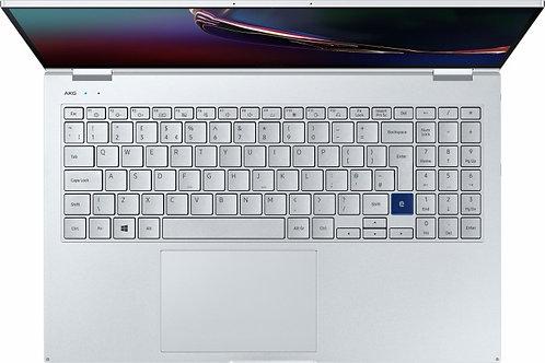 """Samsung Galaxy Book Flex 15.6"""" Royal Silver, Core i7-1065G7, 16GB RAM, 512GB SSD"""
