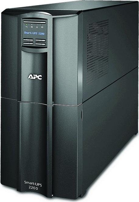 APC Smart-UPS 2200VA LCD SmartConnect, USB/seriell