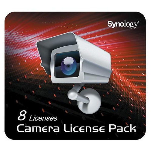 Synology Camera Licence Pack, 8 Cameras
