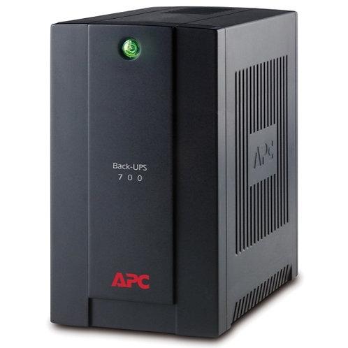 APC Back-UPS 700 VA, 230 V, AVR, Schuko-Ausgänge, BX700U-GR