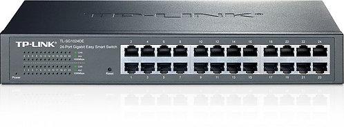 TP-Link TL-SG1000 Desktop Gigabit Easy Smart Switch, 24x RJ-45