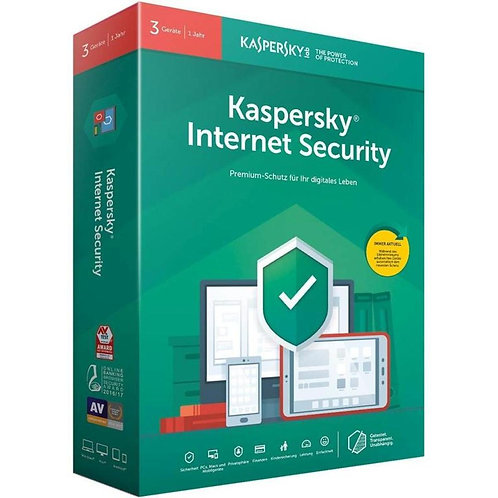 Kaspersky Internet Security 5 Geräte, 1 Jahr, (Multi-Device) Direktdownload
