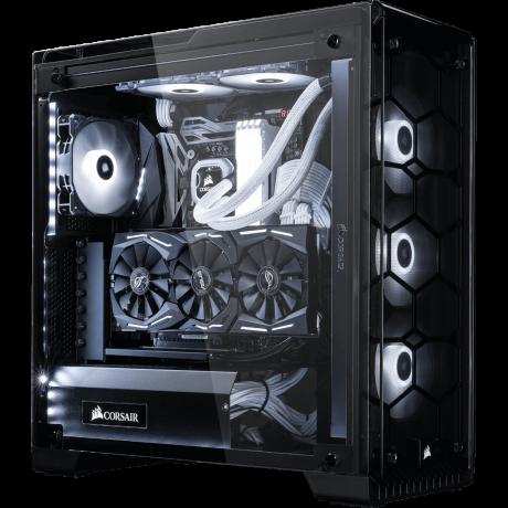 XMG UNIFY C3 - High End Gaming PC, Core i7, 32GB RAM, 1TB SSD, RTX-2070