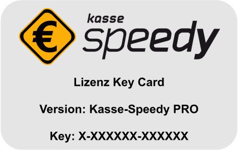 Kasse-Speedy PRO - Zusatzmodul Benutzerverwaltung