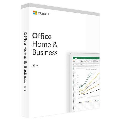 Microsoft-Office 2019 Home & Business ESD (deutsch)