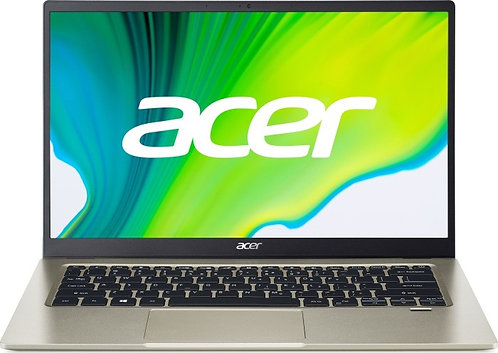 "Acer Swift 1 - Gold, 14"", Intel N5030, 8GB RAM, 256GB SSD, WIN 10 Home"