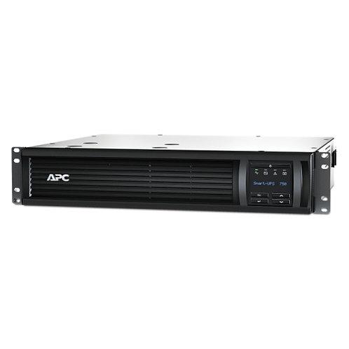 APC Smart-UPS 750 VA, LCD, Rackmount, 2 HE, 230 V, mit Netzwerkkarte