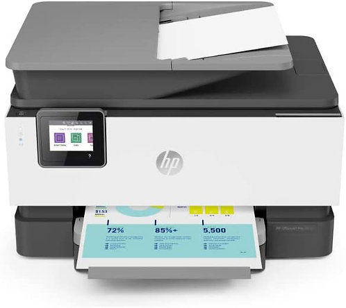 HP OfficeJet Pro 9012, All-in-One, DIN A4, Multifunktion, mehrfarbig