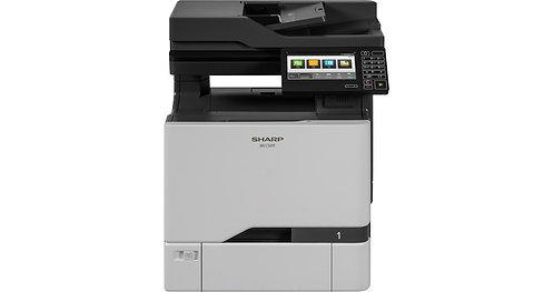 SHARP MX-C407F, DIN A4, 38 Seiten/Minute, MFP, Farblaser