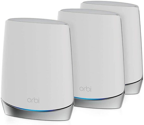 NETGEAR Orbi RBK753 WiFi 6 Mesh WLAN System, bis zu 525m²