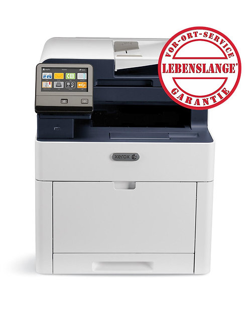Xerox WorkCentre 6515N, DIN A4, 28 Seiten/ Minute, Farb-Multifunktionsgerät