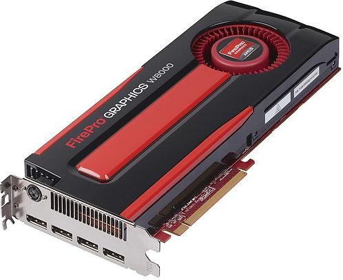 AMD FirePro W8000, 4GB GDDR5, 4x DP, SDI