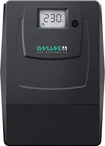 ONLINE USV Yunto Smile 600 Line-Int. 600VA/360W/USB/Schuko/Alarmfunktion