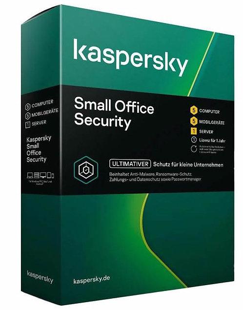 KASPERSKY Small Office Security 8, 1File Server, 5-9 User, 1 Jahreslizenz