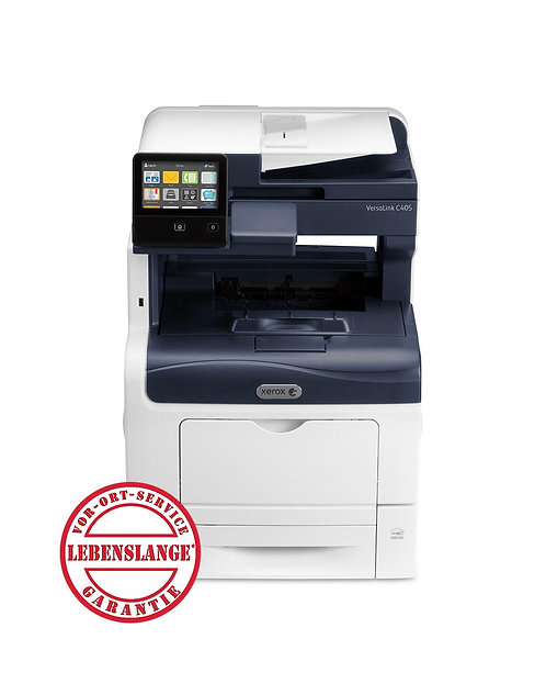 Xerox VersaLink C405DN, DIN A4, 36 Seiten/Minute,  Farblaser-Multifunktionsgerät
