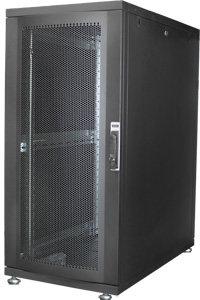 DIGITUS 26HE Serverschrank 1260x600x1000 mm, Farbe Schwarz (RAL 9005)