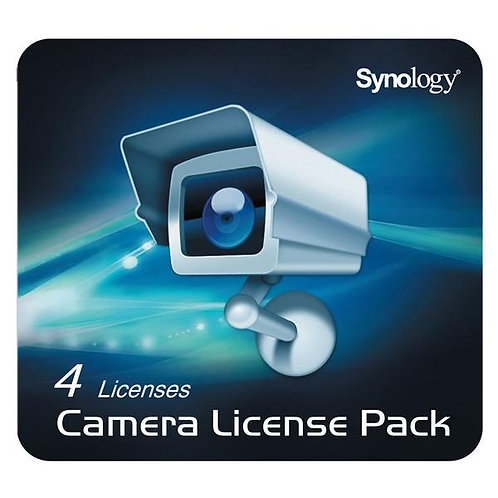 Synology Camera Licence Pack, 4 Cameras