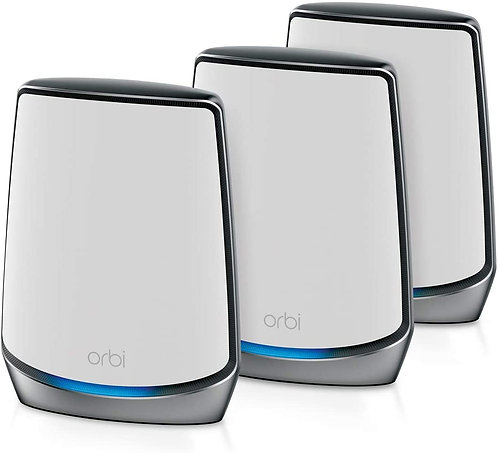NETGEAR Orbi RBK853 WiFi 6 Mesh WLAN System, bis zu 525m²