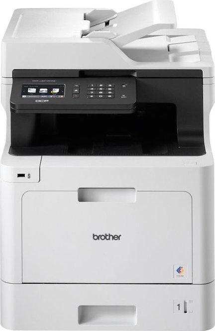 Brother DCP-L8410CDW, Farblaser, 3 Jahre Garantie