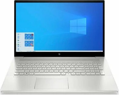 "HP Envy 17, 17,3"", Natural Silver, Core-i5, 16GB RAM, 512GB SSD, Windows 10 Home"