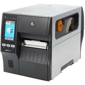 Zebra ZT411, Thermotransfer, 104mm, 300 dpi, Etikettenspender, Aufwickler