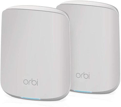 NETGEAR Orbi RBK352 WiFi 6 Mesh WLAN System, bis zu 200m²
