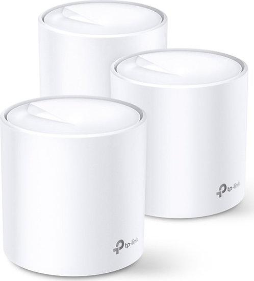 TP-Link Deco X60, 3er Pack, WiFi 6 Mesh System, Abdeckung bis zu 550m²