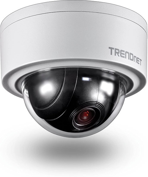 TrendNet TV-IP420P - 3MP - PoE - Motorisierte PTZ Kuppelnetzwerkkamera