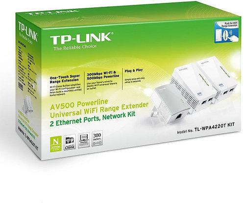 TP-Link AV500 Powerline Extender Triple Kit, 3er-Bundle