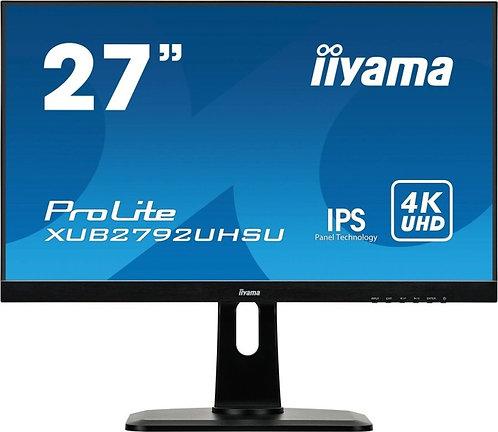 iiyama ProLite XUB2792UHSU-B1, 27 Zoll, 3840x2160, höhenverstellbar