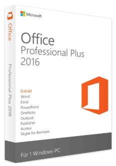 Microsoft Office 2016 Professional Plus (ESD) (deutsch)