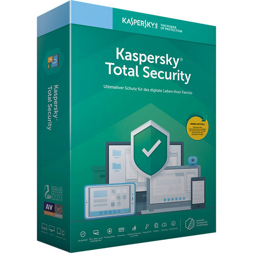 Kaspersky Total Security 1 Gerät, 2 Jahre, (Multi-Device) Direktdownload