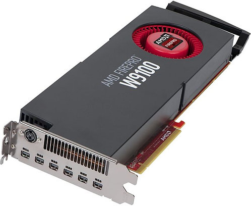AMD FirePro W9100, 16GB GDDR5, 6x mDP, SDI