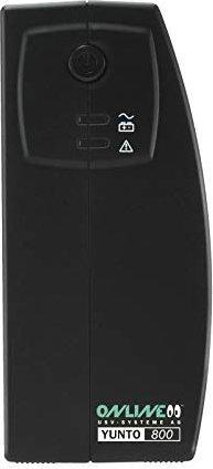 ONLINE USV YUNTO 800 Line-Interaktiv 800VA/480W/USB/geräuschlos/lüfterlos