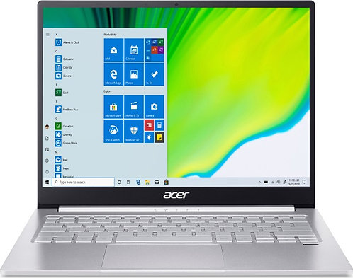 """Acer Swift 3 Ultra Thin 13,5"""" QHD IPS, Intel i5-1035G4, 8GB RAM, 512GB SSD, Win"""