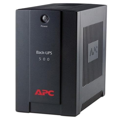 APC Back-UPS 500 VA, AVR, IEC-Ausgänge, BX500CI